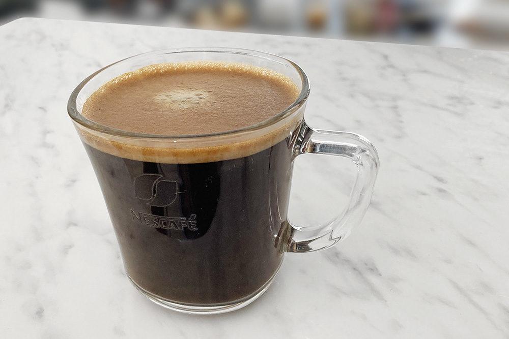 自宅で淹れたコーヒー